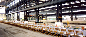Gourmet Team Catering & Event GmbH | Lunch in Industriehalle